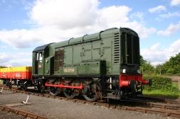 Didcot Railway Centre - class 08 604 Phantom