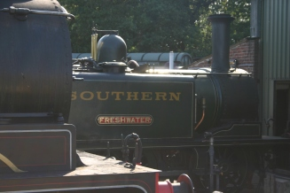 Isle of Wight Steam Railway - Havenstreet - W24 Calbourne & A1X Terrier - W8 Freshwater