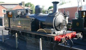 Isle of Wight Steam Railway - Havenstreet - Adams O2 - W24 Calbourne