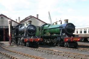 Didcot Railway Centre - class 53xx 5322 & 69xx 6998 Burton Agnes Hall