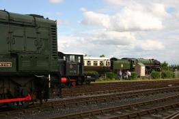 Didcot Railway Centre - BR standard 7MT - 70000 Britannia & 604 Phantom- 2012