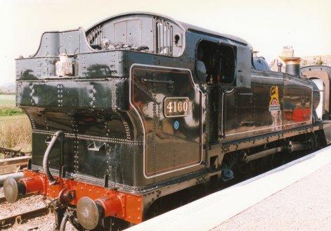 013 - Bishops Lydeard - 5101 large prairie class 4160