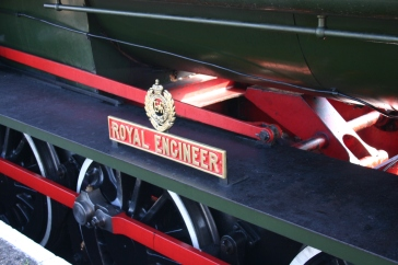 Isle of Wight Steam Railway - Havenstreet - Hunslet Austerity - WD198 Royal Engineer