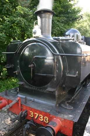 Didcot Railway Centre (Didcot Halt) - GWR 8750 class Pannier Tank 3738
