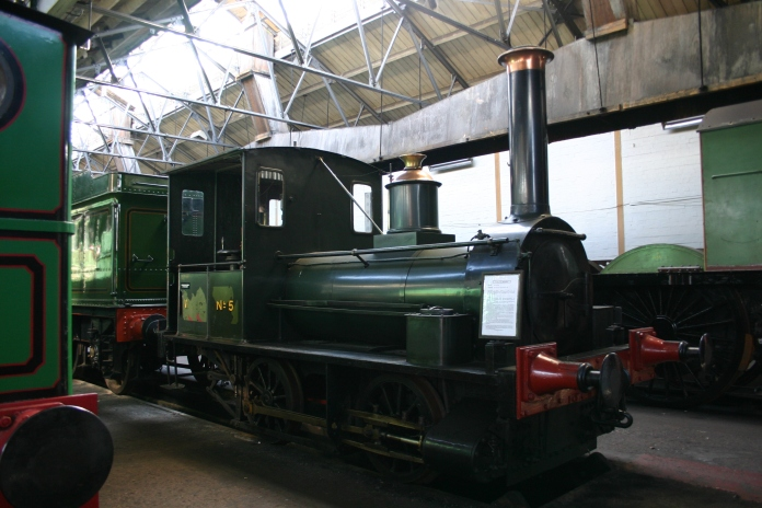 Didcot Railway Centre - No 5 Shannon - well tank