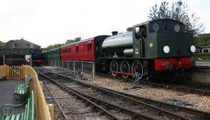 Isle of Wight Steam Railway - Hunslet Austerity - Havenstreet - WD198 Royal Engineer
