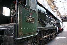 Didcot Railway Centre - 4073 Castle Class 5051 Defiant