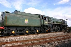 Didcot Railway Centre - BR standard 7MT - 70000 Britannia - 2012
