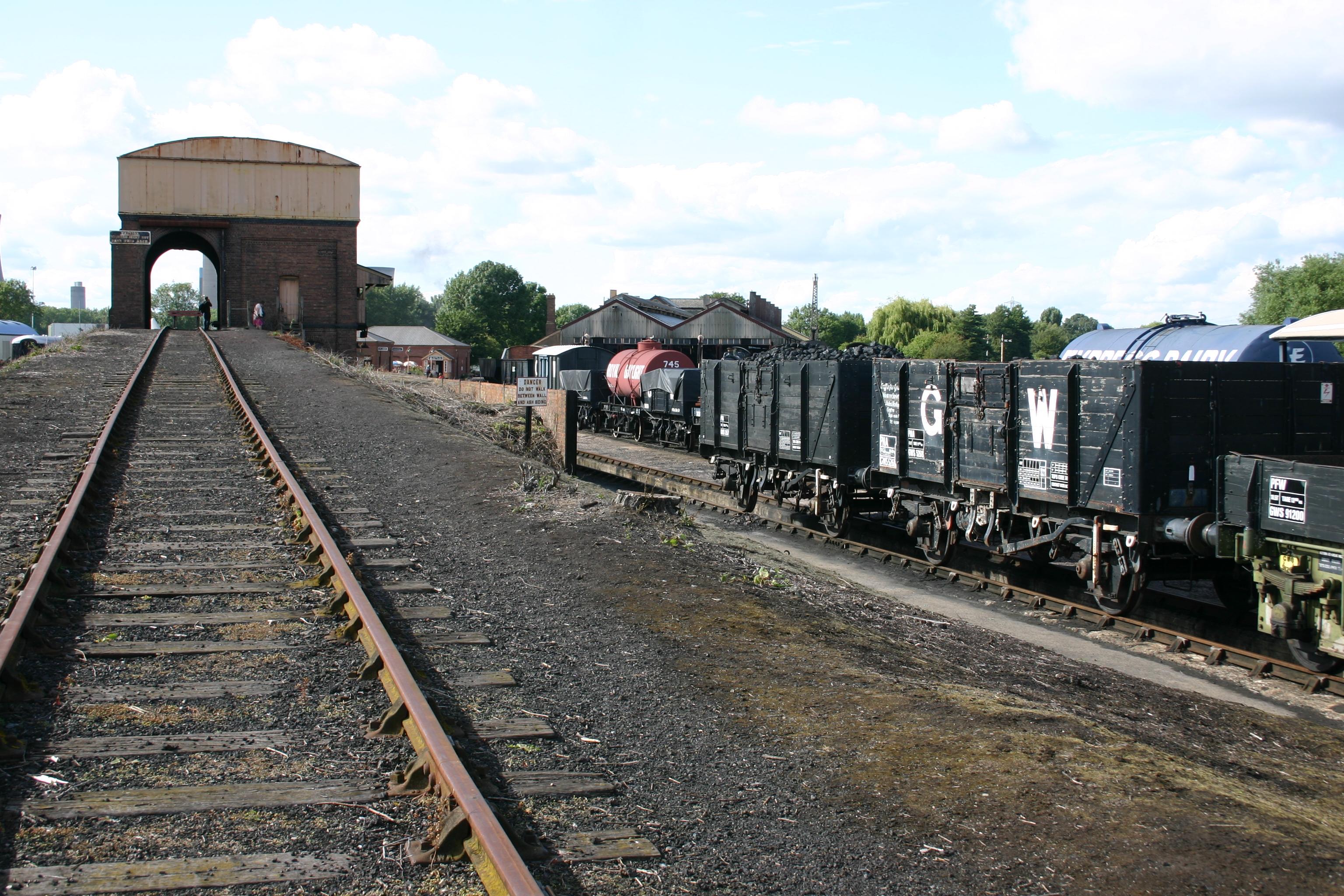 Didcot Railway Centre Loco Yard