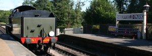 Bluebell Railway -  Sheffield Park - U Class 1638