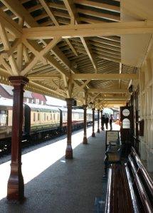 Bluebell Railway -  Sheffield Park - Station Platform 2 Waiting Shelter
