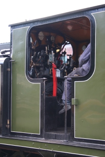 Bluebell Railway - Sheffield Park - LBSCR E4 class B473 (Birch Grove) cab
