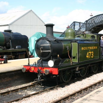 Bluebell Railway - Sheffield Park - LBSCR E4 class B473 (Birch Grove)