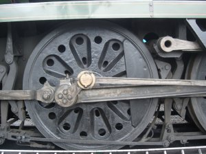 2008 - Ropley - 35005 Canadian Pacific Merchant Navy (Bulleid-Firth-Brown wheel)