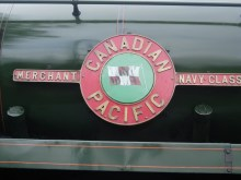 2008 - Ropley - 35005 Canadian Pacific Merchant Navy  nameplate