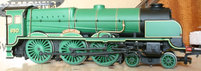 Bachmann Lord Nelson super detail