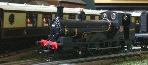 BR Locoyard - Dapol Kernow Beattie Well Tank 30587