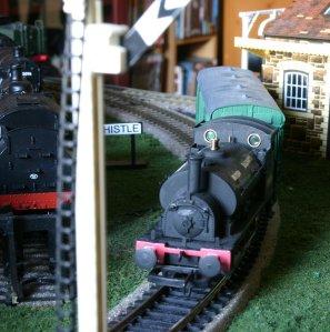 BR Locoyard - Hornby super detail pug 56038