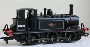 Hornby BR SR Ex-LBSCR A1X Terrier - 32670 (bunker view)