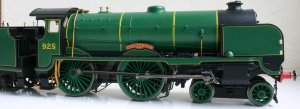 Hornby super detail Schools class V - 925 Cheltenham (1)