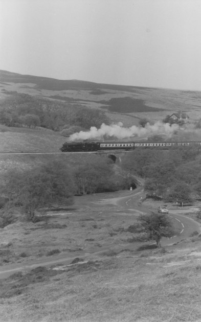 Late 1990s - Black 5 - North Yorkshire Moors Railway NYMR