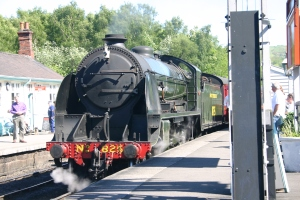 North Yorkshire Moors - Grosmont - S15 class - 825