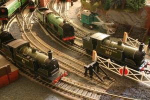 Southern Railway Days Hornby M7 tank 51 & 357 & school class V 925 Cheltenham
