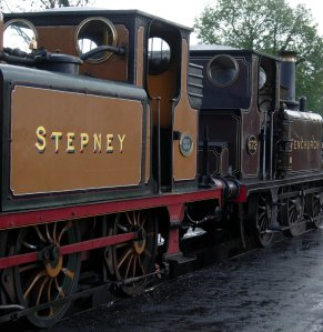 A1X Terrier bunkers - standard (55 Stepney & 672 Fenchurch)