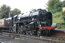 Watercress Line 2011 - Ropley - 9F class - 92212