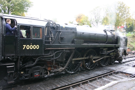 Alresford - BR standard 7MT - 70000 Britannia (unlined black)