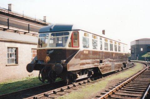 1995 - Diesel Rail Car 22