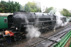 2011 - Alresford - BR standard 9F - 92212