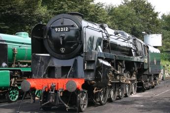 Watercress Railway - Ropley - BR Standard 9F - 92212
