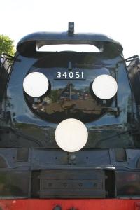 Watercress Railway - Alresford - Battle of Britain Class - 34051 Sir Winston Churchill
