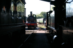 Bluebell Railway - Sheffield Park - SECR C class 592 (from engine shed)