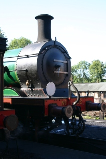 Bluebell Railway - Sheffield Park - SECR C class 592