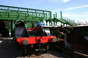 Watercress Railway - Ropley - S15 class 828