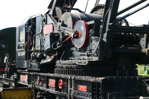 Watercress Railway - Ropley - Ransome & Rapier 45 ton Steam Crane DS1580