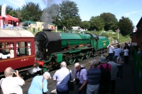 Watercress Railway - Ropley - 850 Lord Nelson