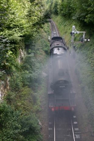 Watercress Railway - Alresford - Stanier Class Black 5 (5MT) 45379