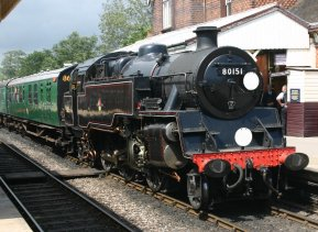 2011 - Bluebell Railway - Sheffield Park - Standard 4MT 2-6-4 tank 80151