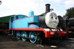 2012 - Watercress Railway - Ropley - 1 Thomas the Tank engine (converted Hunslet Austerity saddle tank)