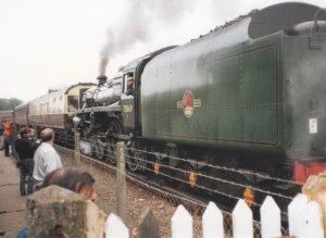 Ashford Open Day 1992 - BR Standard 4MT 4-6-0 75069 (1)