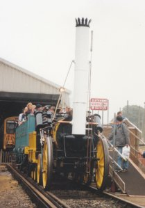 Ashford Open Day 1992 - NRM Replica of the Rocket