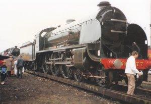 Ashford Open Day 1992 - NRM SR N15 King Arthur Class- 777 Sir Lamiel (Southern olive green livery)