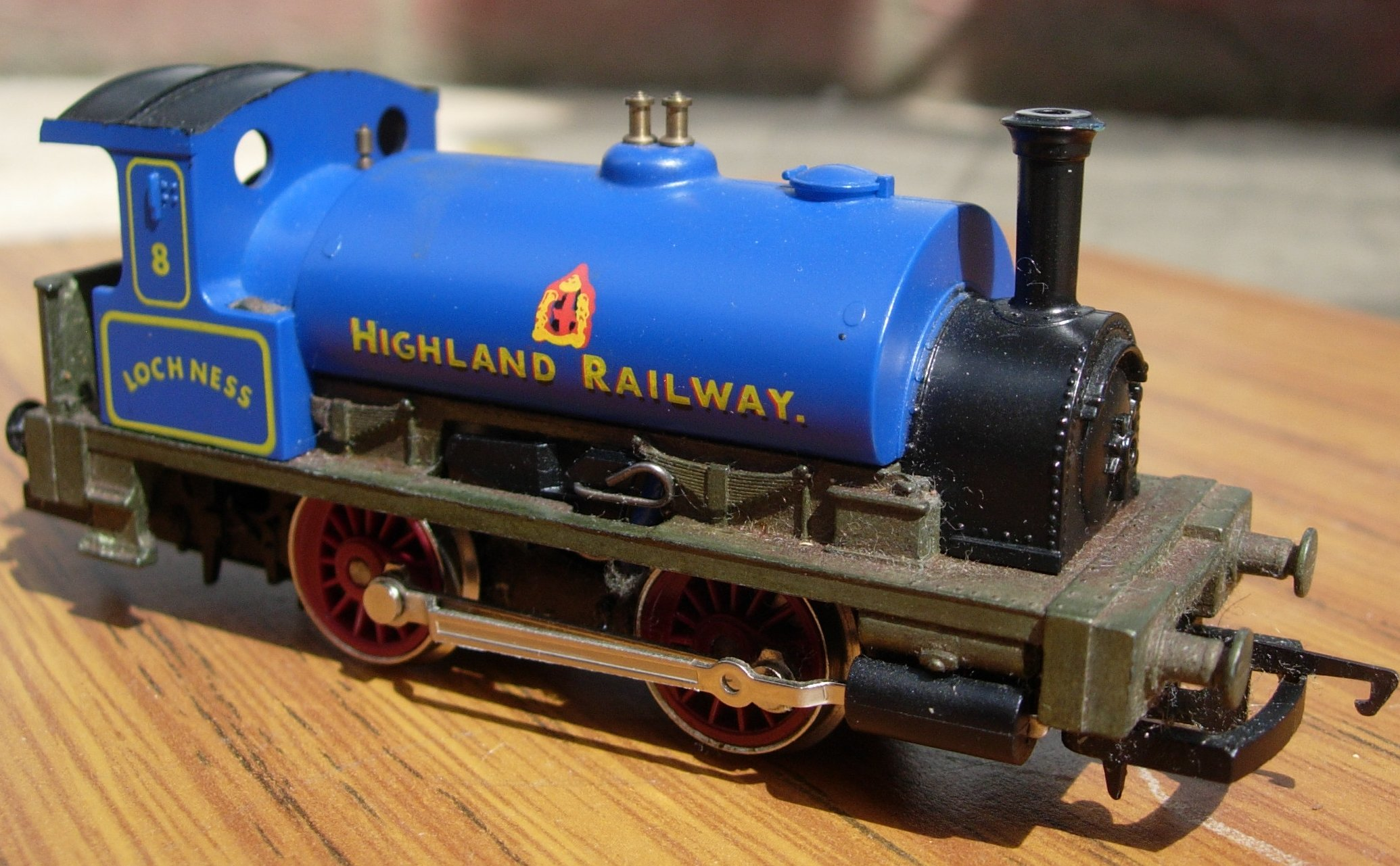 Hornby  Railroad  Caledonian Pug Review