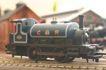 Hornby Caledonian Railroad Pug 270 (1)