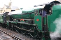 2012 - Watercress Railway - Alresford - Southern Locomotive - 850 Lord Nelson