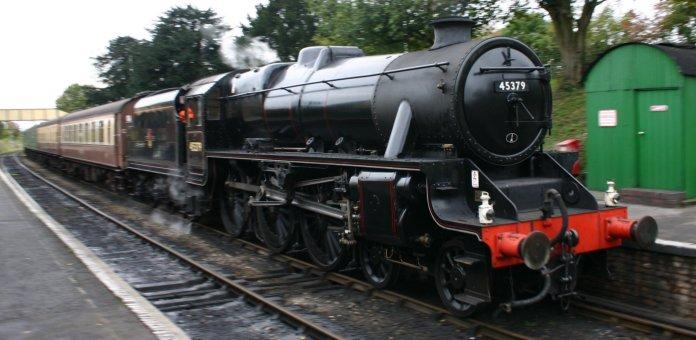 Watercress Railway - Ropley - Ex - LMS Black 5 5MT - 45379