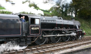 033 - Watercress Railway - Ropley - Ex - LMS Black 5 5MT - 45379